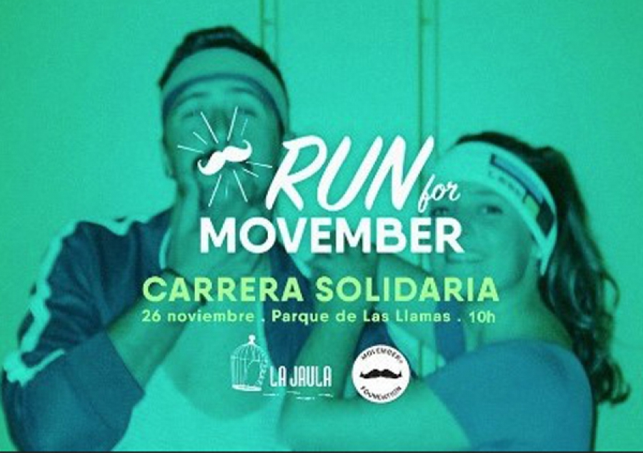 Carrera Solidaria Run For Movember en Santander